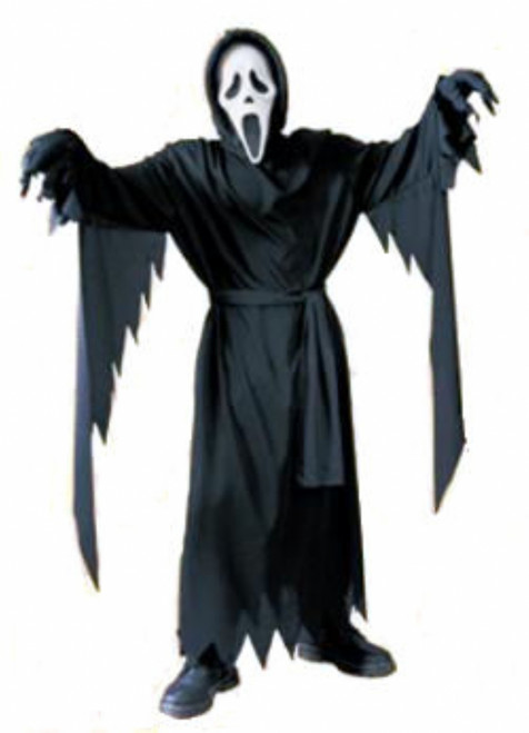 Ghost Face Scream Children's Halloween Costume