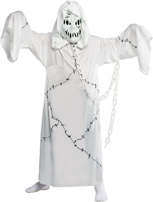 Children's Cool Ghoul Chained Ghost Costume