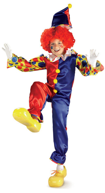 Bubbles the Clown Boys Costume