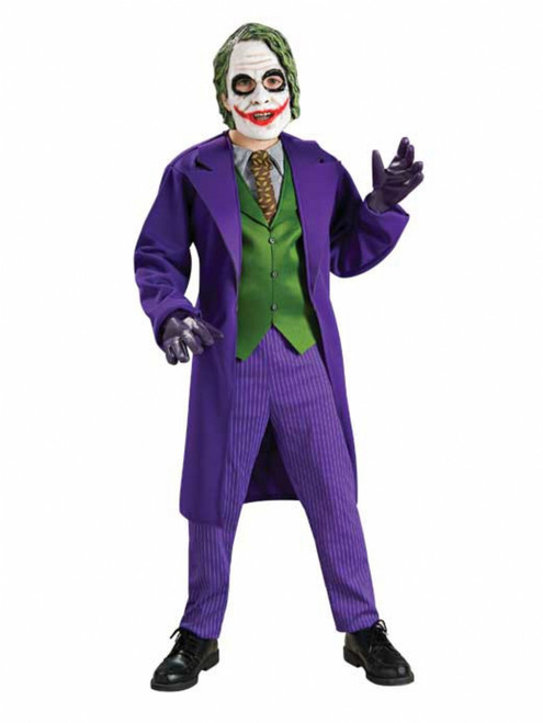 Deluxe Children's Joker Halloween Costume