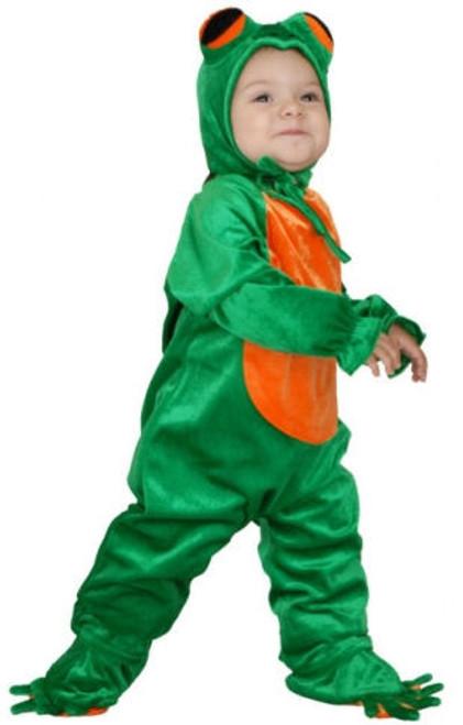 Children's Cute Comfy Little Frog Costume