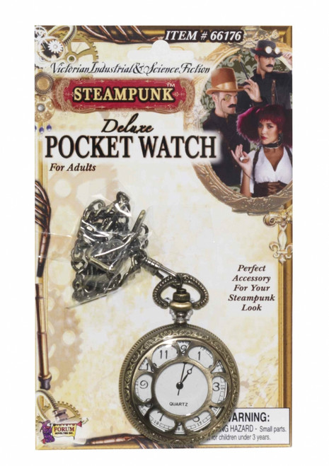 Deluxe Steampunk Pocket Watch Accessory