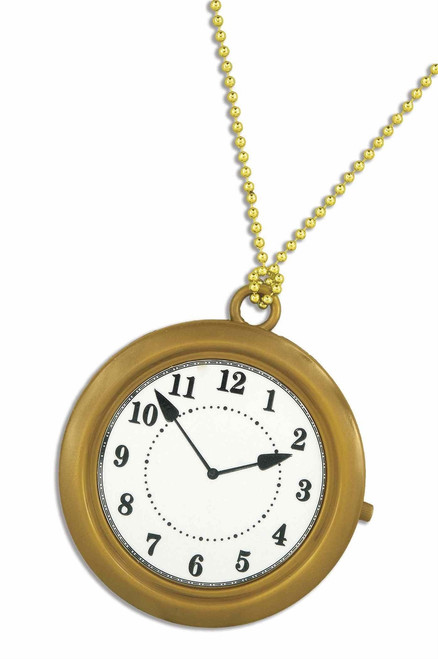 White Rabbit Pocket Watch Clock