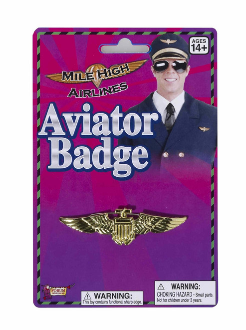 Aviator Pilot Pin