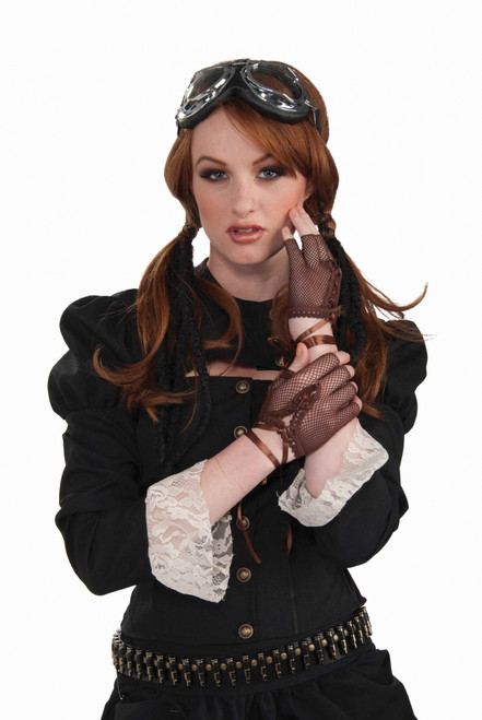 Open Fingered Steampunk Gloves