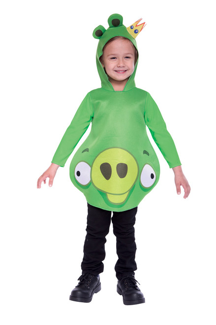 Child's Licensed King Pig Angry Birds Costume