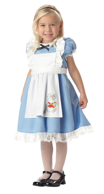 Toddler's Lil' Alice In Wonderland Costume