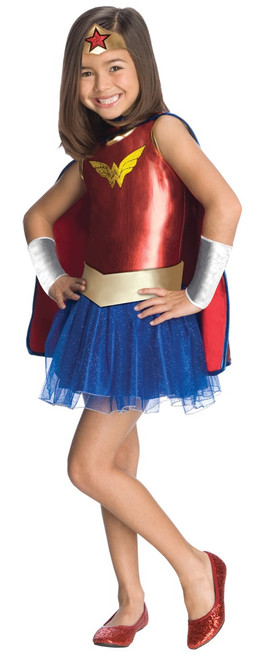 Toddler's Wonder Woman Licensed Tutu Costume