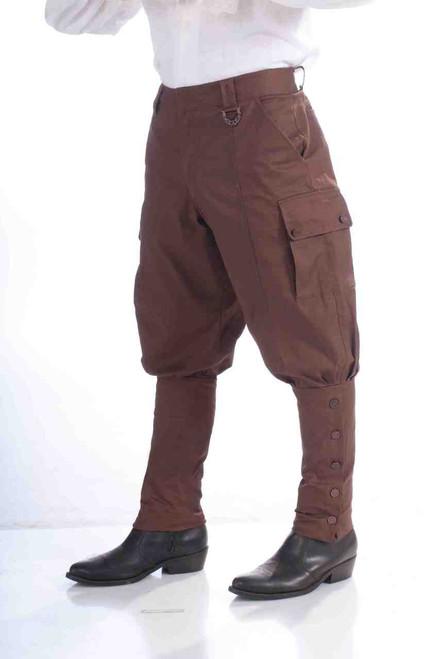 Victorian Steampunk Jodphurs Knicker Pants