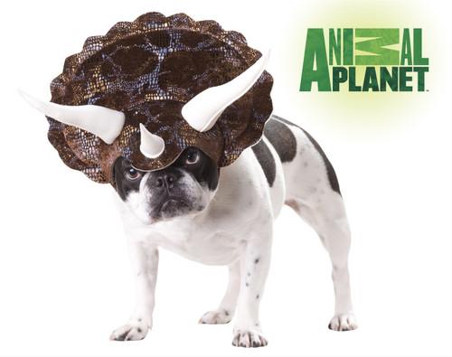 Triceratops Dinosaur Pet Costume Animal Planet