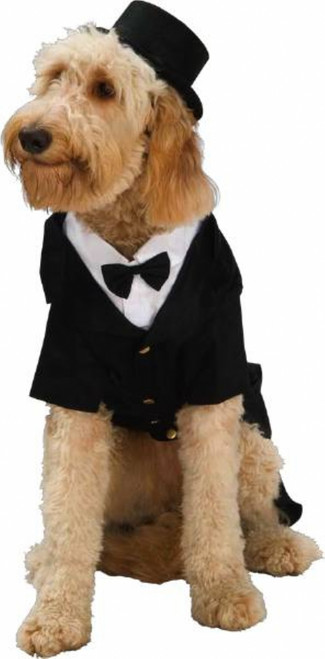 Dapper Dog Tux Costume