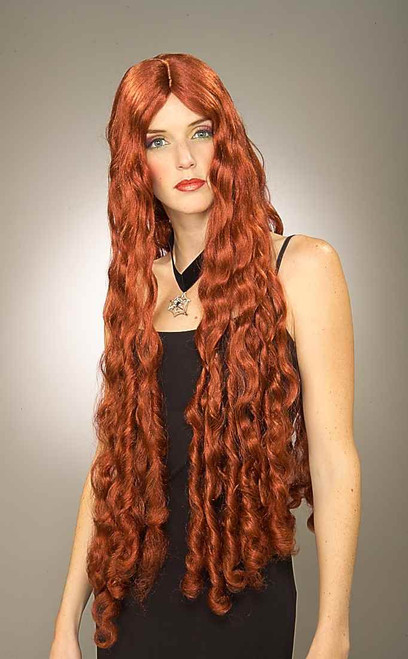 Long Red Mermaid Melisandre of Asshai Wig