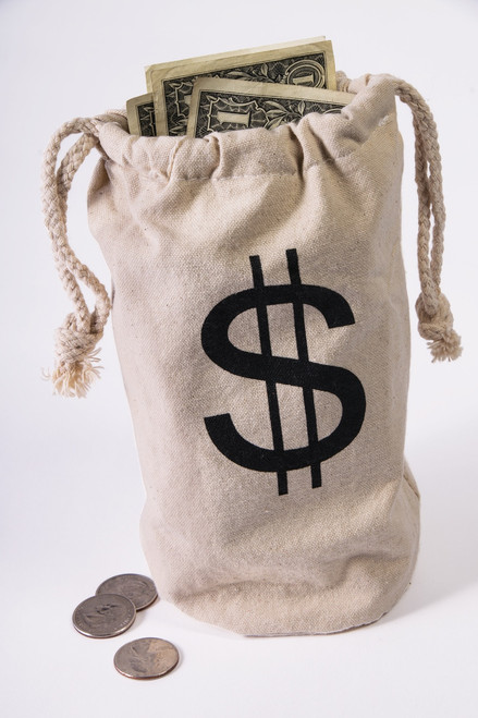 Wild West Outlaw Money Bags