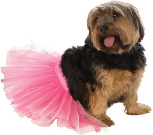 Tiny Pink Princess Pet Tutu