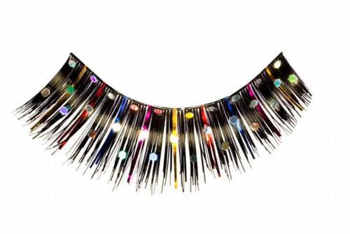 Multi coloured Jewel Eyelashes