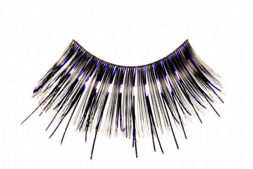 Purple Accent Eyelashes