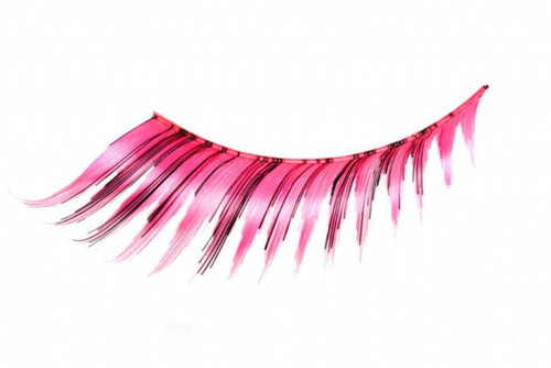 Pink and Black Eyelashes