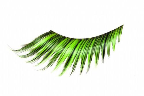Lime Green Eyelashes