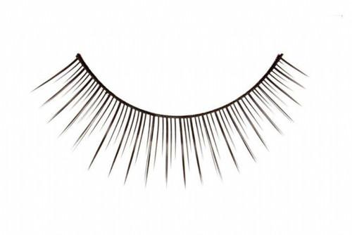 Black Polished Eyelashes