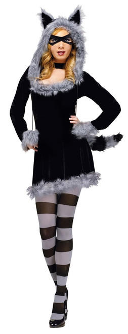 Racy Raccoon Ladies Costume