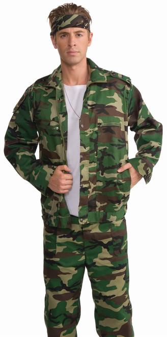 Gi Joe Camo Army Jacket