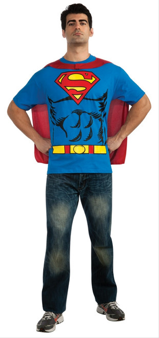 Superman T-Shirt Costume Kit
