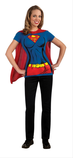 Supergirl T-Shirt Quick Costume