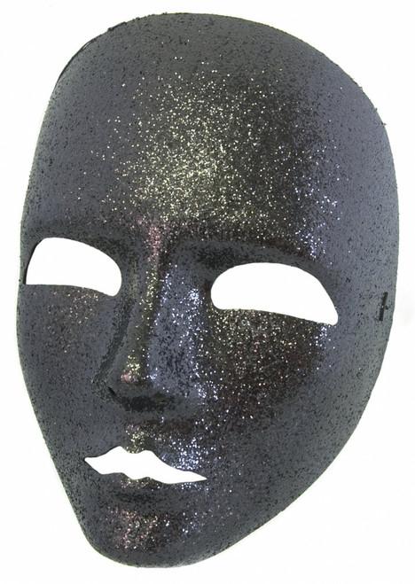 Viso Glitter Full Face Italian Mime Mask