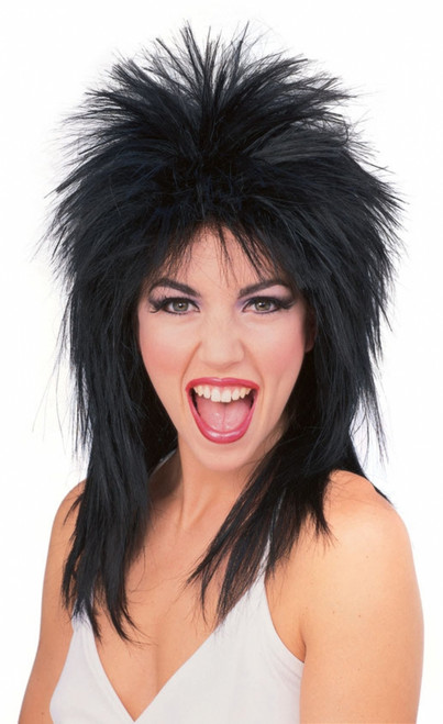 Super Star Rock Mullet Costume Wig