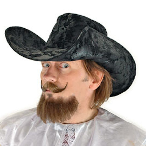Black Muskateer Costume Hat