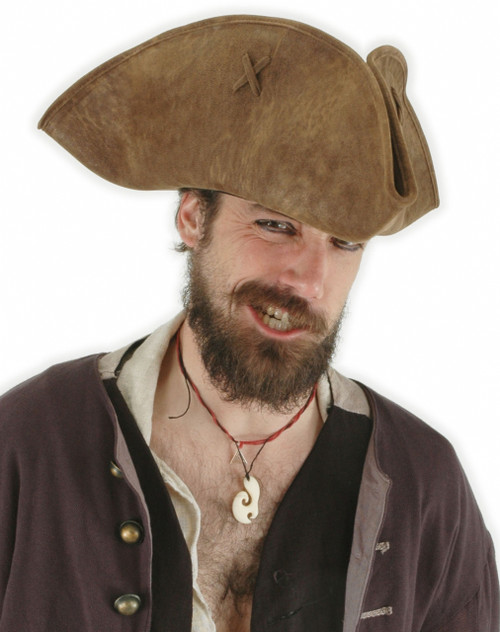 Scallywag Pirate Costume Hat