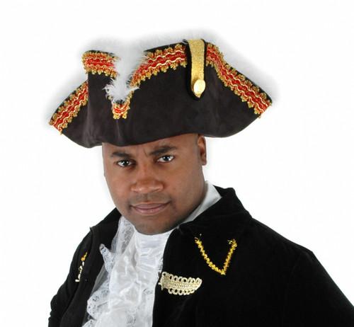 Gov'nah Pirate Tricorn
