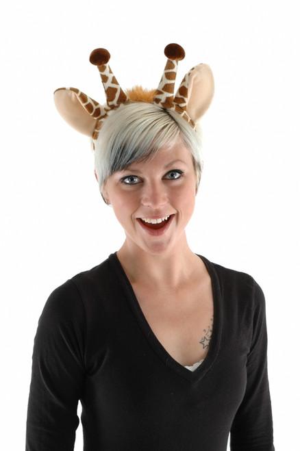 Giraffe Headband and Tail Set