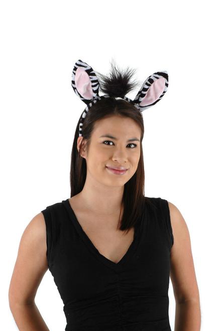 Zebra Ears & Tail Set
