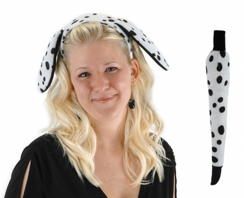 Dalmatian Ears and Tail Set