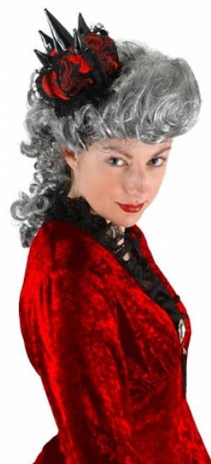 Gothic Queen Mini Costume Hat/Crown