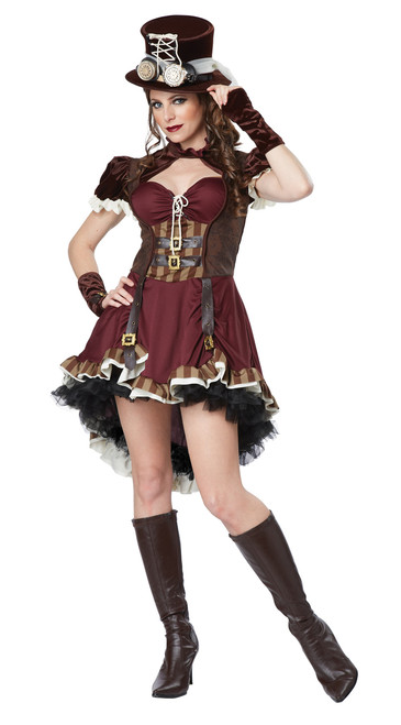 Sassy Steampunk Girl Ladies Costume