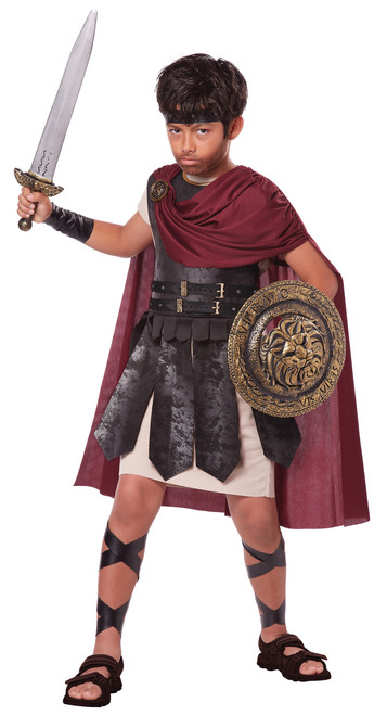 Boys Spartan Warrior Roman Costume