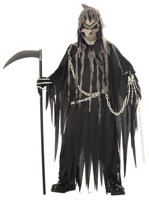 Mr. Grim Reaper Glow in the Dark Halloween Costume