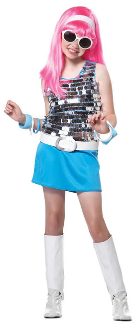 60s Children's Go-Go-Girl Costume