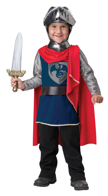 Toddler's Gallant Knight Costume