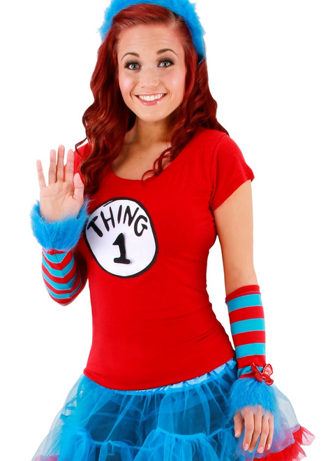 Thing 1, Thing 2 Arm Warmers