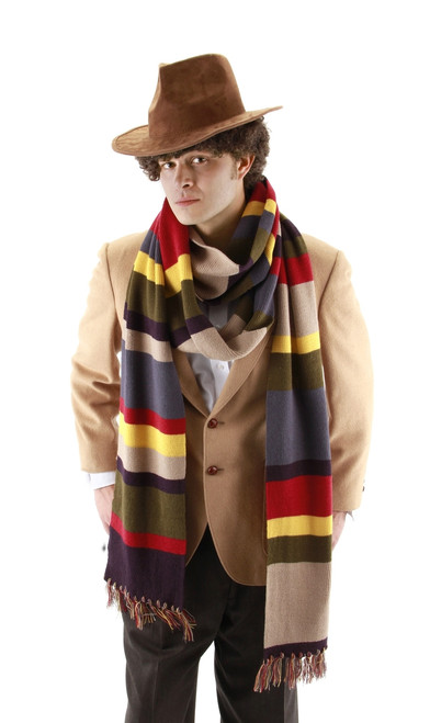 12' Long Deluxe Doctor Who Scarf