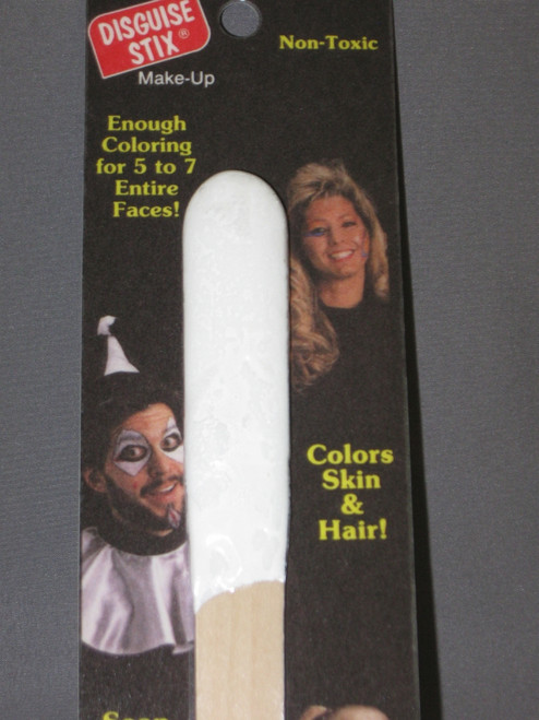 Clown White Disguise Stix