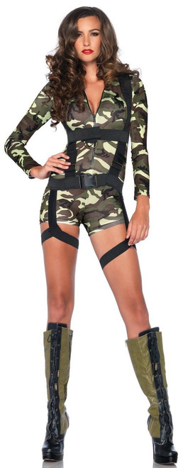 Goin' Commando Gi Special Forces Sexy Costume