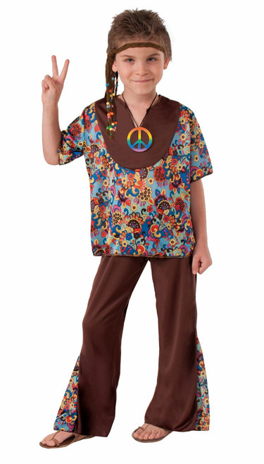 70s Hippy Boy Halloween Costume