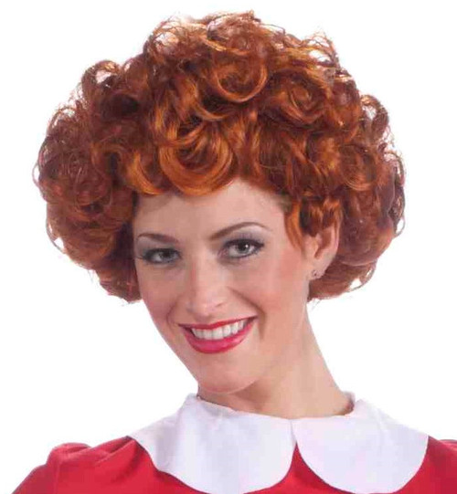 Annie Red Curly Wig