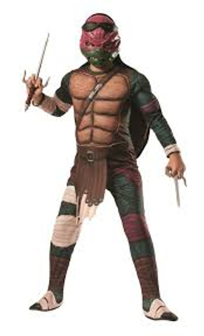 Raphael Childs Deluxe Costume 2014 TMNT