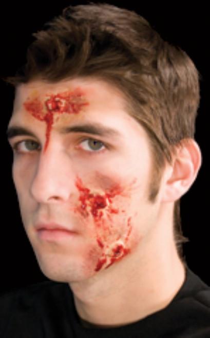 Body Hits Bullet Holes