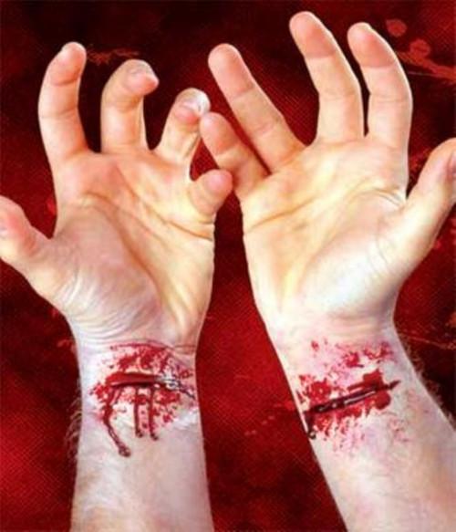 2 Piece Scar Set #2 Slashed Wrists